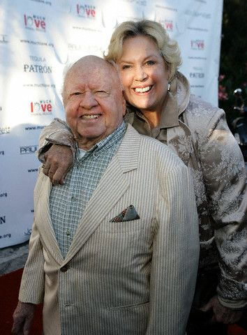 Mickey Rooney Jan Rooney and