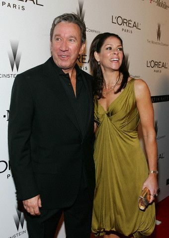 Tim Allen  and Jane Hajduk