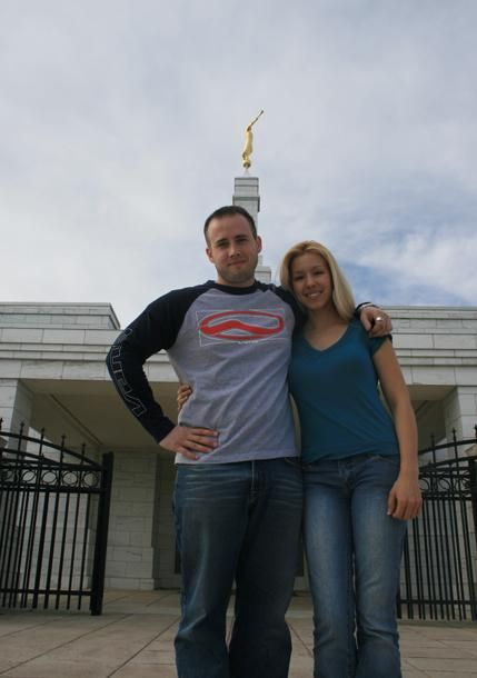 Travis Alexander Jodi Arias and  in Oklahoma City Temple, March 2008