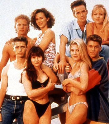 Brandon Walsh Beverly Hills 90210 Cast (1990)