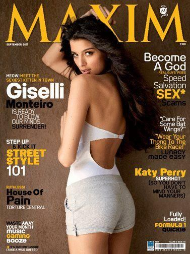 Giselli Monteiro - Maxim Magazine Pictorial [India] (September 2011)