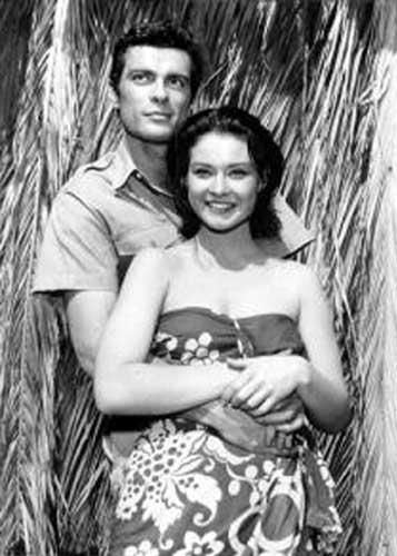 Diane Baker  and Gardner McKay