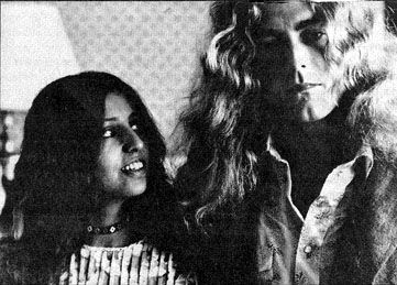 Maureen Plant Maureen Wilson and Robert Plant circa 1971