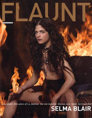 Selma Blair - Flaunt Magazine Cover [United States] (February 2004)
