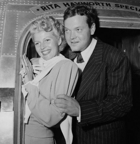 Orson Welles  and Rita Hayworth