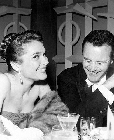 Felicia Farr and Jack Lemmon