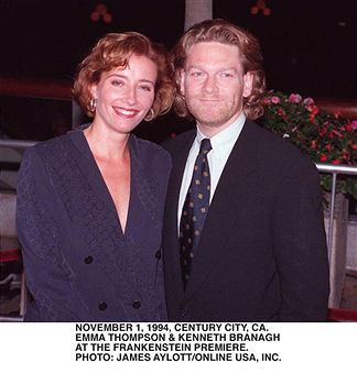 Kenneth Branagh Emma Thompson and