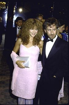 Amy Irving  and Steven Spielberg