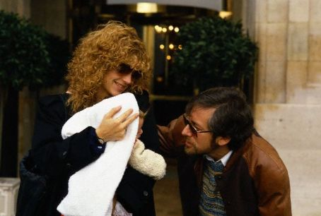 Steven Spielberg Amy Irving and