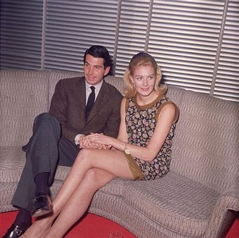 Vanessa Redgrave  and George Hamilton