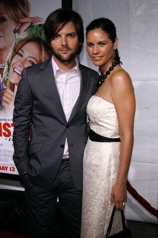 Adam Scott  and Naomi Scott