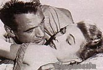 Patricia Neal  and Gary Cooper