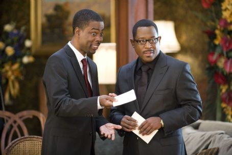Chris Rock (left) and Martin Lawrence star in Screen Gems' comedy DEATH AT A FUNERAL. Photo By: Phil Bray. © 2010 Screen Gems, Inc. All rights reserved.