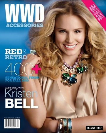 Kristen Bell - WWD Magazine Cover [United States] (August 2010)
