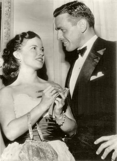 Shirley Temple and Charles Black December 5, 1950