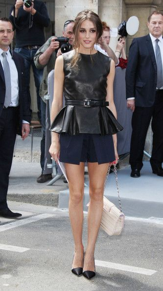 Olivia Palermo: Christian Dior's Fashion show during the Paris Fashion week Autumn-Winter in Paris