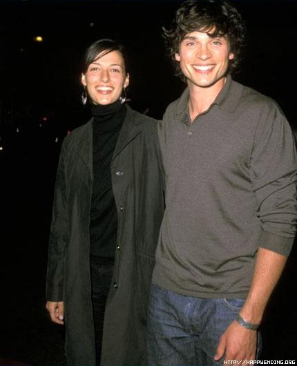 Jamie White and Tom Welling