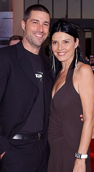 Matthew Fox  and wife Margherita Ronchi
