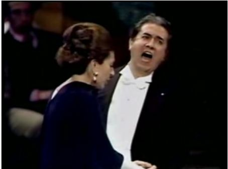 Maria Callas and Giuseppe Di stefano