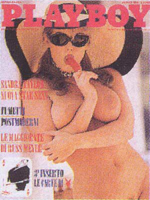 Sandra Taylor - Playboy Magazine Cover [Italy] (August 1995)