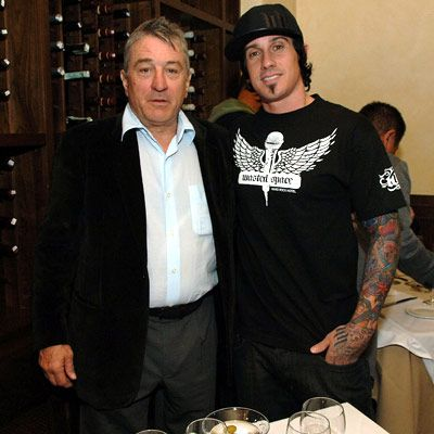 Carey Hart  and Robert De Niro