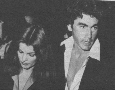 Priscilla Presley and Mike Edwards