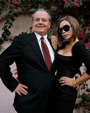 Jack Nicholson , Victoria Beckham