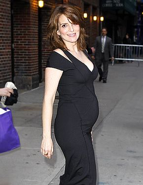 Check Out Tina Fey's Baby Bump!