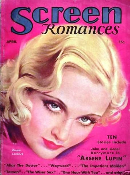 Carole Lombard - Screen Romances Magazine [United States] (April 1932)