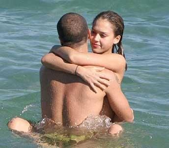 Cash Warren Jessica Alba and
