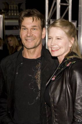 Lisa Niemi  and Patrick Swayze