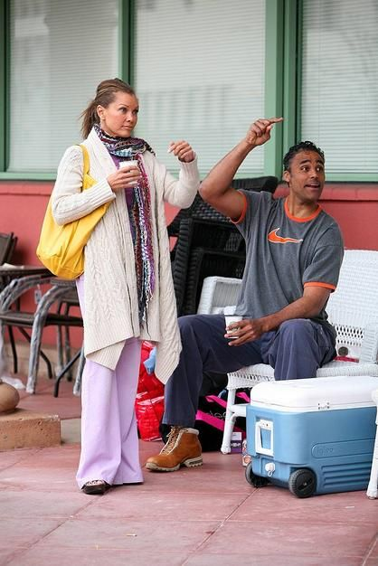 Rick Fox  and Vanessa L. Williams