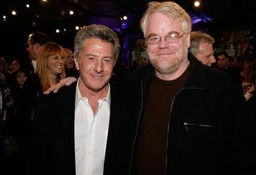 Dustin Hoffman , Philip Seymour Hoffman