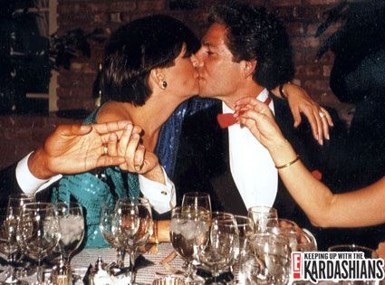 Kris Jenner Robert Kardashian and