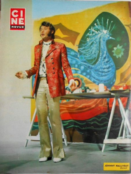Johnny Hallyday - Cine Revue Magazine Pictorial [France] (9 January 1969)