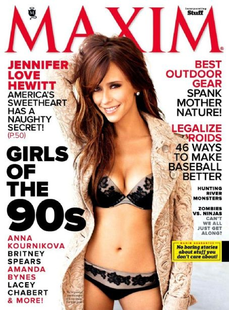 Jennifer Love Hewitt - Maxim Magazine Cover [United States] (April 2012)
