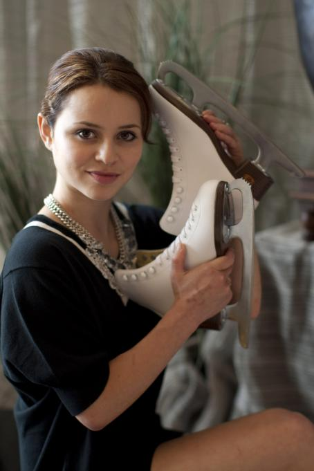 Sasha Cohen - Phtoshoot On July 11, 2010 In Los Angeles, California