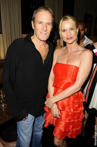 Michael Bolton  and Nicolette Sheridan