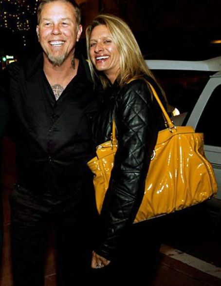 James and Francesca Hetfield