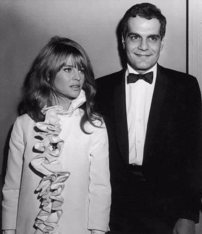 Omar Sharif  and Julie Christie