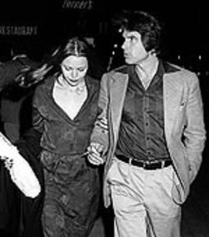 Michelle Phillips  and Warren Beatty