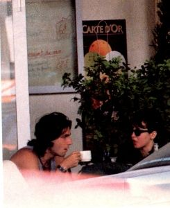 Daniel Day-Lewis  and Isabelle Adjani