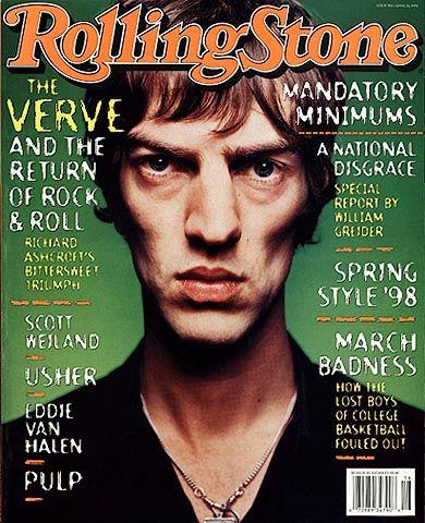 Richard Ashcroft Magazine Covers