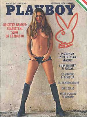 Brigitte Bardot - Playboy Magazine [Italy] (September 1974)
