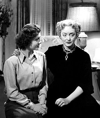 Betty Lynn With Bette Davis