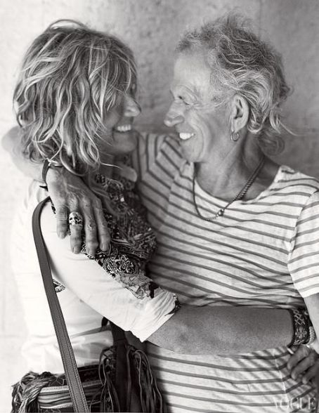 Patti Hansen - Keith and Patti in 2012