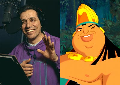 Edward James Olmos  is the voice of the Chief in Dreamworks' The Road To El Dorado - 2000