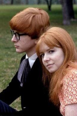 Peter Asher The Ashers ,Jane and Peter  are making photos with each other
