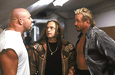 Ready to Rumble - Bill Goldberg, Joe Pantoliano and Diamond Dallas Page in Warner Brothers' Ready To Rumble - 2000