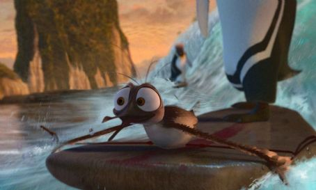 Surf's Up Mikey (voiced by Mario Cantone) in Columbia Pictures/Sony Pictures Animation's Surf's Up.